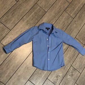 Cherokee long sleeve button down shirt